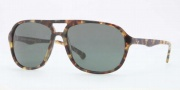 Brooks Brothers BB5007S Sunglasses Sunglasses - 601971 Spotty Tortoise / Green Solid