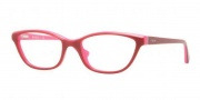 Vogue VO2748 Eyeglasses Eyeglasses - 1990 Top Red Transparent / Pink Demo Lens
