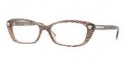 Versace VE3159 Eyeglasses Eyeglasses - 934 Waves Brown