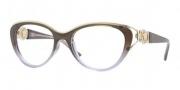 Versace VE3167 Eyeglasses Eyeglasses - 5007 Brown Green / Gradient V