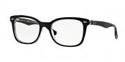 Ray Ban RX5285 Eyeglasses Eyeglasses - 2034 Top Black On Transparent