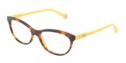 D&G DD1245 Eyeglasses Eyeglasses - 2606 Havana On Yellow