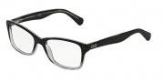 D&G DD1246 Eyeglasses Eyeglasses - 2602 Black Gradient Gray