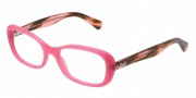 D&G DD1247 Eyeglasses Eyeglasses - 2599 Matte Pink
