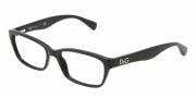 D&G DD1249 Eyeglasses Eyeglasses - 501 Black