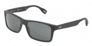 D&G DD3082 Sunglasses Sunglasses - 255781 Matte Black / Polar Gray
