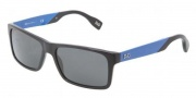 D&G DD3082 Sunglasses Sunglasses - 255587 Black Gray