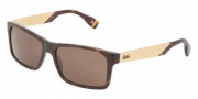 D&G DD3082 Sunglasses Sunglasses - 502/73 Havana Brown
