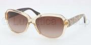 Coach HC8036F Sunglasses Pemela Sunglasses - 507413 Sand / Brown Gradient