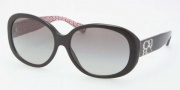 Coach HC8038 Sunglasses Sunglasses - 503411 Black / Grey Gradient