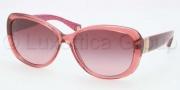Coach HC8040B Sunglasses Keri Sunglasses - 50328H Burgundy / Burgundy Gradient