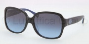 Coach HC8043F Sunglasses Bridget Sunglasses - 509117 Black Blue Grey / Blue Gradient