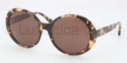 Coach HC8046F Sunglasses Sunglasses - 509273 Amber / Vintage Tortoise Brown Solid