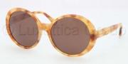 Coach HC8046F Sunglasses Sunglasses - 509373 Dark / Vintage Tortoise BR Solid