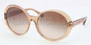 Coach HC8046F Sunglasses Sunglasses - 509413 San Beige / Khaki Gradient