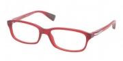 Prada Sport PS 02DV Eyeglasses Eyeglasses - LAU101 Matte Red