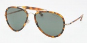 Ralph Lauren RL7038W Sunglasses Sunglasses - 917798 Pale Gold / Tokyio Havana Grey