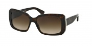 Ralph Lauren RL8092 Sunglasses Sunglasses - 500313 Dark Havana / Brown Gradient
