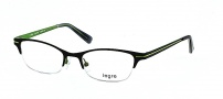 Legre LE5057 Eyeglasses Eyeglasses - 1187 Black / Lime Green