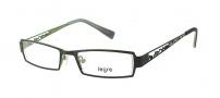 Legre LE5017 Eyeglasses Eyeglasses - 1104 Matte Black / Lime Back