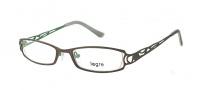Legre LE5014 Eyeglasses Eyeglasses - 1096 Matte Gunmetal / Green Back