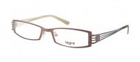 Legre LE5010 Eyeglasses Eyeglasses - 1083 Matte Brown / Beige Back