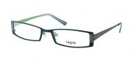 Legre LE5008 Eyeglasses Eyeglasses - 1078 Matte Black / Green Back