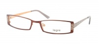 Legre LE5008 Eyeglasses Eyeglasses - 1163 Dark Brown / Gold Back