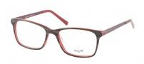 Legre LE218 Eyeglasses Eyeglasses - 672 Buffalo Horn / Red