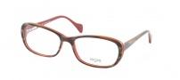 Legre LE214 Eyeglasses Eyeglasses - 653 Buffalo Horn / Red
