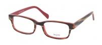 Legre LE212 Eyeglasses Eyeglasses - 653 Buffalo Horn / Red