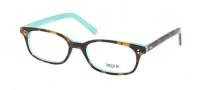 Legre LE210 Eyeglasses Eyeglasses - 445 Desert Tortoise / Turquoise