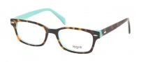 Legre LE208 Eyeglasses Eyeglasses - 445 Desert Tortoise / Turquoise