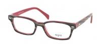 Legre LE208 Eyeglasses Eyeglasses - 653 Buffalo Horn / Red