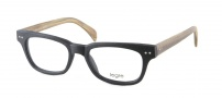 Legre LE150 Eyeglasses Eyeglasses - 522 Black / Birch Wood