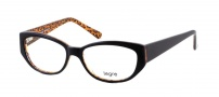 Legre LE144 Eyeglasses Eyeglasses - 437 Dark Brown / Animal Print