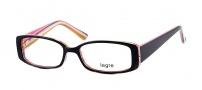 Legre LE143 Eyeglasses  Eyeglasses - 462 Black / Candy Cane
