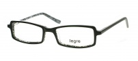 Legre LE136 Eyeglasses Eyeglasses - 435 Black / Silver 3D Pattern