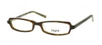 Legre LE135 Eyeglasses Eyeglasses - 314 Tortoise /  Green Brown Flames