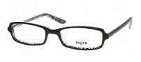 Legre LE134 Eyeglasses  Eyeglasses - 435 Black / Silver 3D Pattern