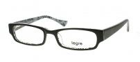 Legre LE133 Eyeglasses Eyeglasses - 435 Black / Silver Dragon Pattern