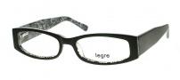 Legre LE130 Eyeglasses Eyeglasses - 435 Black / Silver Dragon Pattern