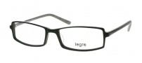 Legre LE125 Eyeglasses Eyeglasses - 324 Black / Silver 3D Pattern