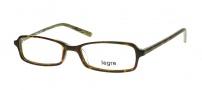 Legre LE122 Eyeglasses Eyeglasses - 314 Tortoise /  Green Brown Flames