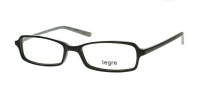 Legre LE122 Eyeglasses Eyeglasses - 324 Black / Silver 3D Pattern