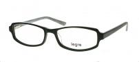 Legre LE121 Eyeglasses Eyeglasses - 324 Black / Silver 3D Pattern