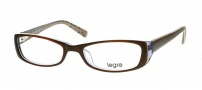 Legre LE105 Eyeglasses Eyeglasses - 603 Brown / See through Grey / Black Spots