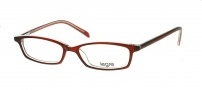 Legre LE104 Eyeglasses Eyeglasses - 305 Burgundy / Clear