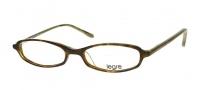 Legre LE103 Eyeglasses Eyeglasses - 314 Tortoise / Green Brown Flames