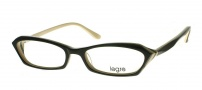 Legre LE100 Eyeglasses Eyeglasses - 613 Black / Brown Cream